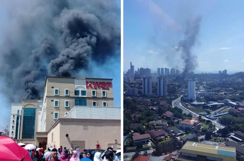 Maklumat KWSP Anda Terjejas Akibat Kebakaran? Ini Penjelasan KWSP