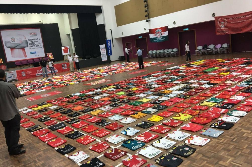 'Malaysia Book of Records' Milik Penyokong Liverpool