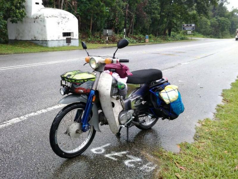 Motosikal 'legend' masih unggul biarpun sudah 50 tahun digunakan.