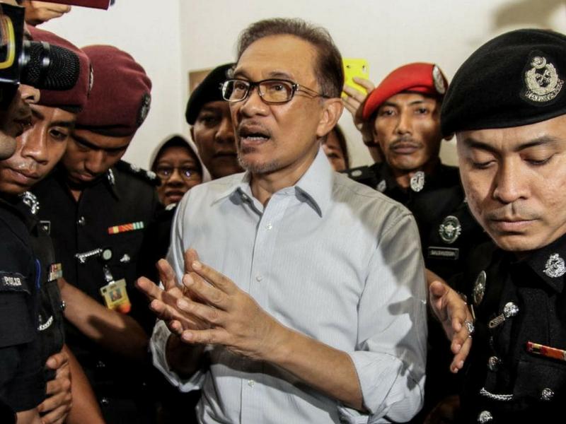 Pengakhiran episod hitam Anwar Ibrahim.