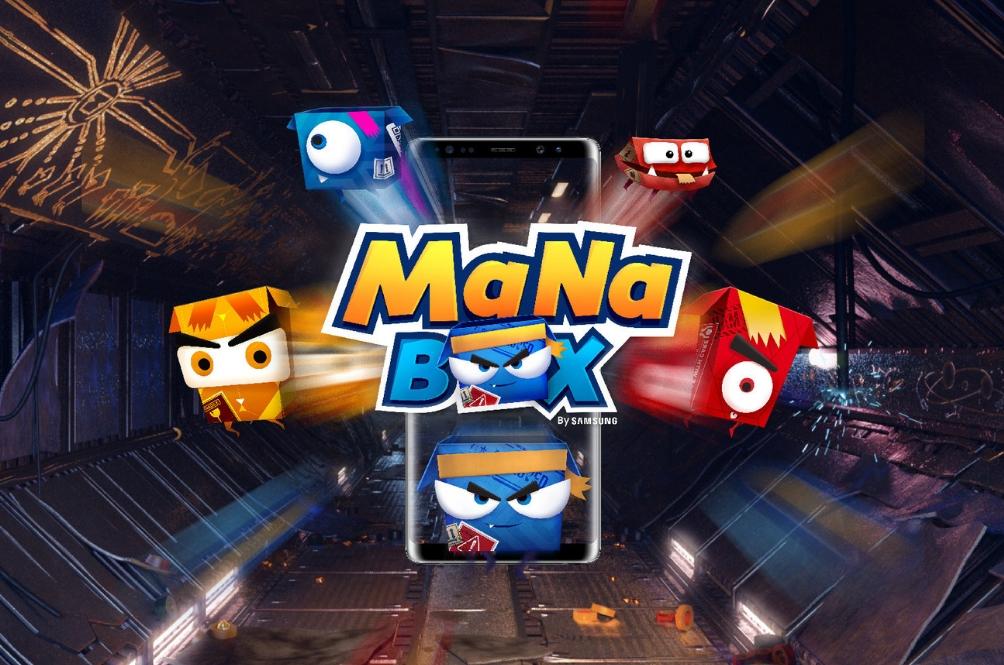 ManaBox, Permainan AR Pertama Dari Samsung Yang Membolehkan Anda Tebus Ganjaran!