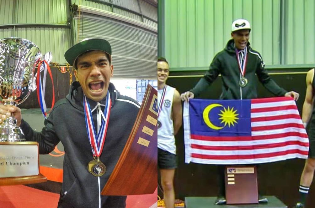 Juara Ninja Ini Terpaksa Pecah Tabung, Pakai Duit Sendiri Setiap Kali Join Competition