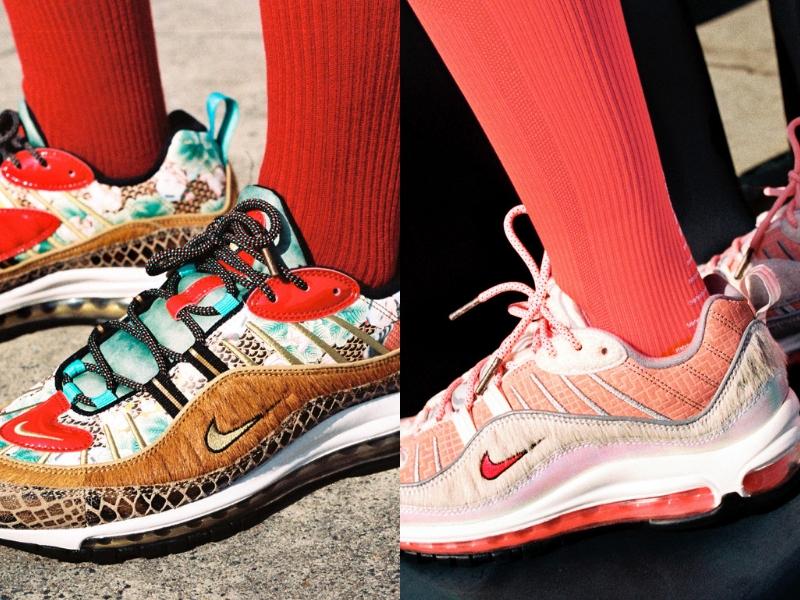 Lihatlah detailing sneakers ini guys!