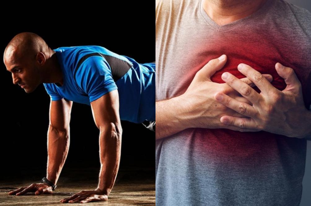 Wahai Lelaki, Jika Tidak Mampu 'Push Up' Sebanyak 10 Kali Anda Mungkin Berisiko Sakit Jantung!