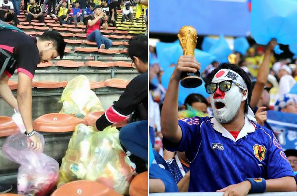 Kutip Sampah Di Stadium? Malaysia Pun Buatlah! Tapi...