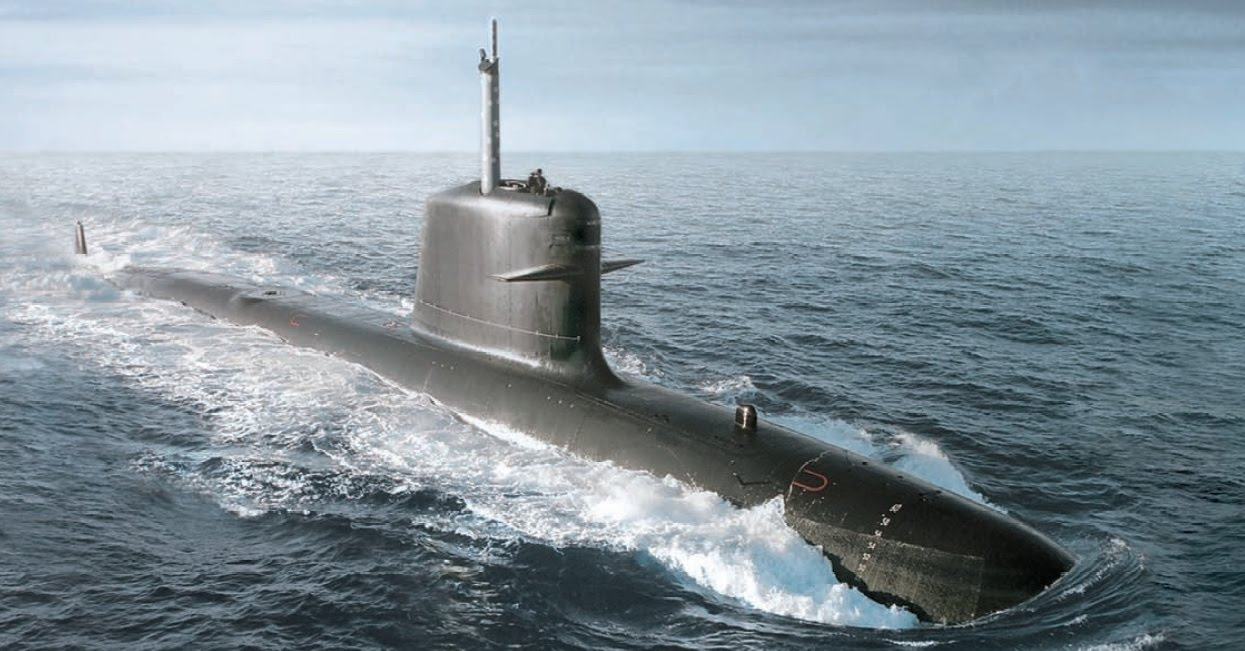 Kapal selam Scorpene boleh dilihat dalam filem ini.