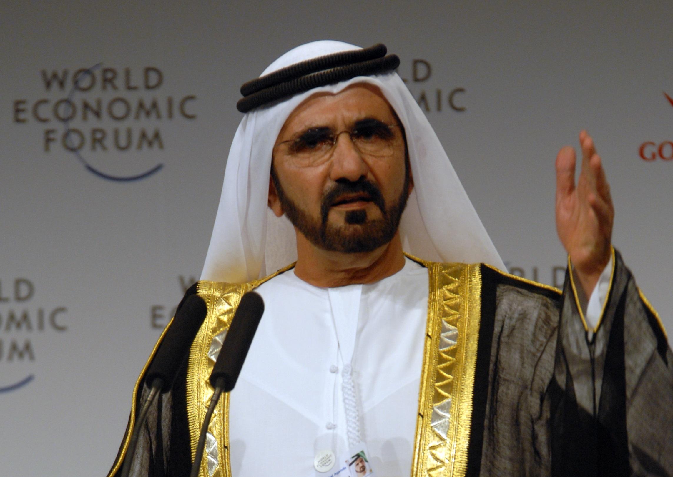 Pemimpin Dubai ini ditangga keenam.