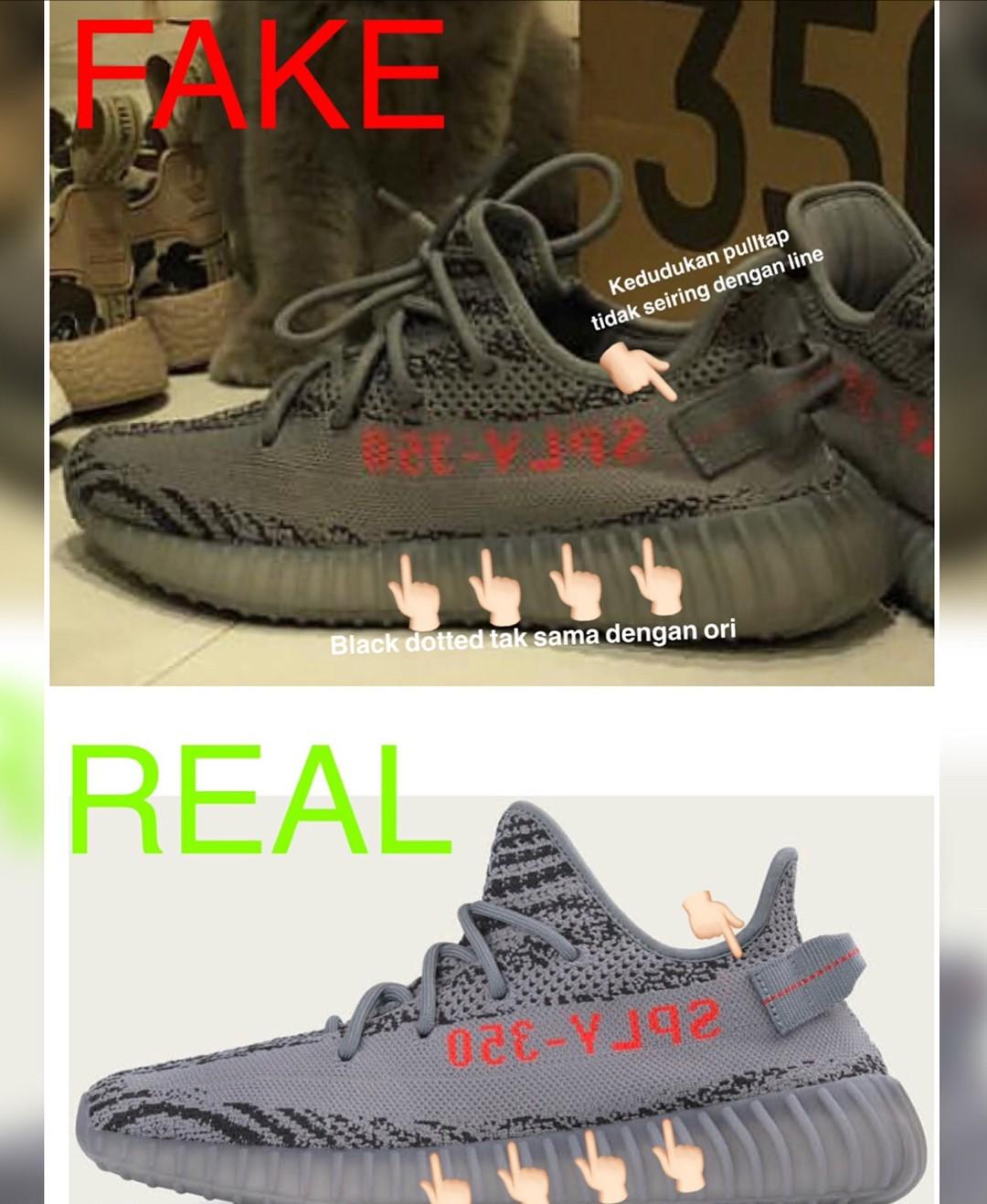 Boleh beza original atau fake?