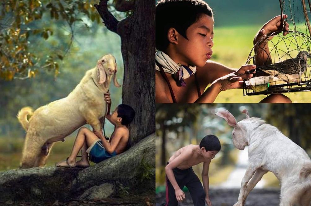 Fotogenik Teruk! Rupanya Bukan Kerbau Je, Banyak Lagi Gambar 'Syukor Khamis Kampung Boy' Ini
