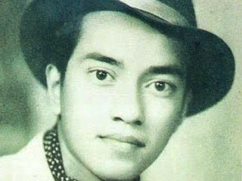 Wajah tampan Tun ketika muda.