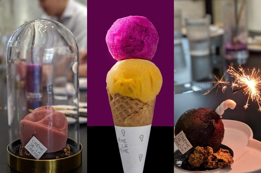 Restoran Ini Cipta Menu Aiskrim Yang 'Super Artistik', Nak Makan Pun Tak Sampai Hati