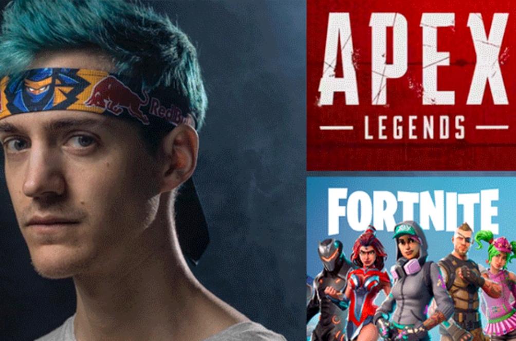 Pemain Hebat Fortnite, Ninja Dikatakan Dibayar RM4 Juta Untuk Bermain Apex Legends!