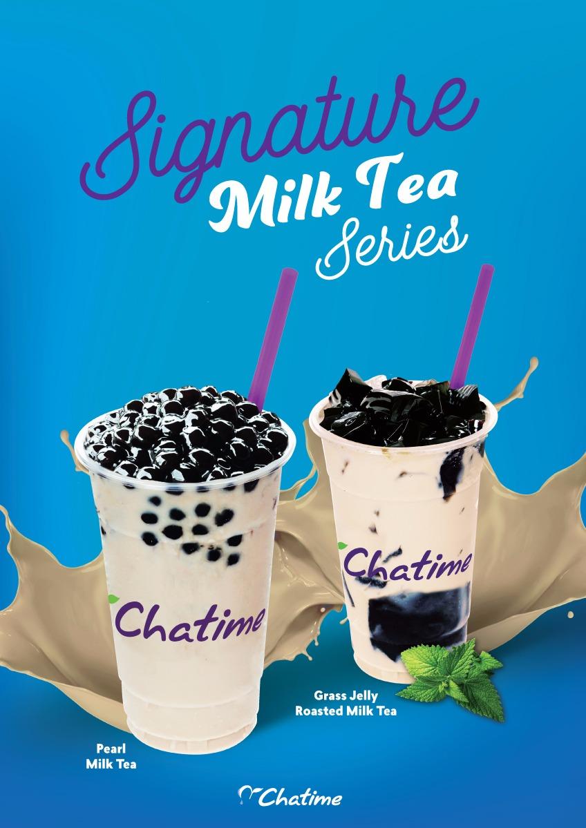 Pearl Milk Tea!