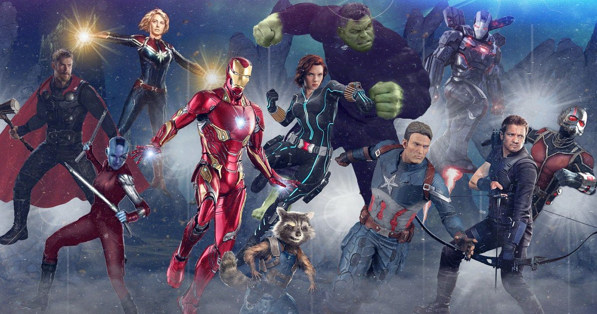 Could this be the leaked concept art for 'Avengers 4'?