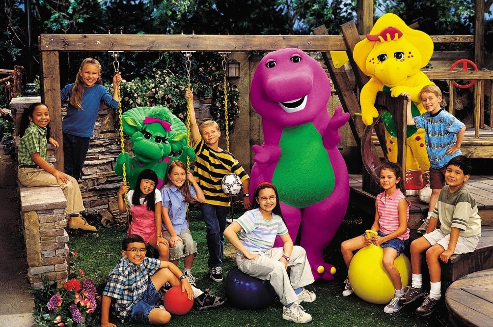 Barney Is A Dinosaur From Our Imaginations And He's Going To Be In A Live-Action Film Soon