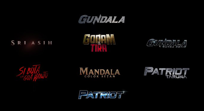 The first phase of the BumiLangit Cinematic Universe.
