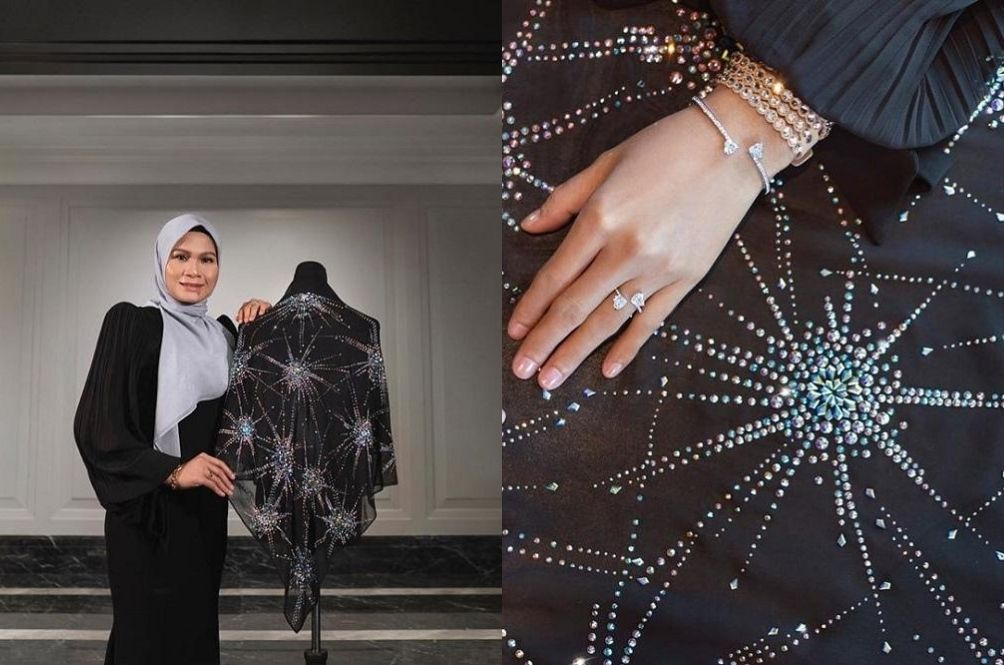 Malaysia Is Now Home To The World's Most Expensive Hijab, Worth RM100,000!