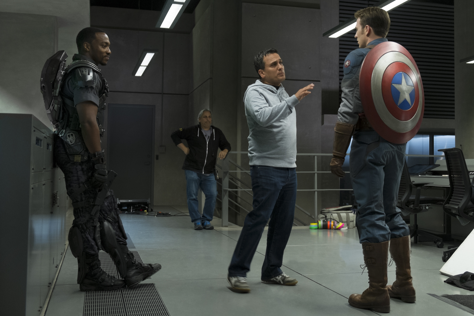 Who do you prefer to be Captain America? Bucky or Falcon?
