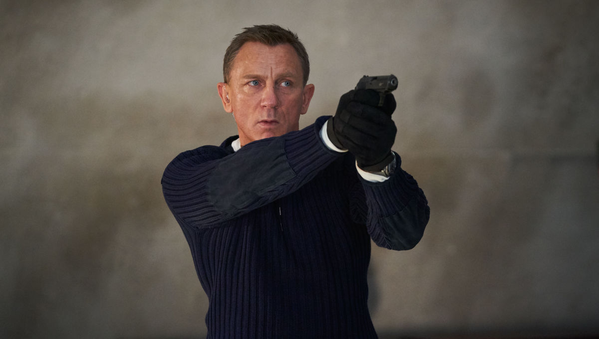 Don't miss your chance to see Daniel Craig for the last time as 007