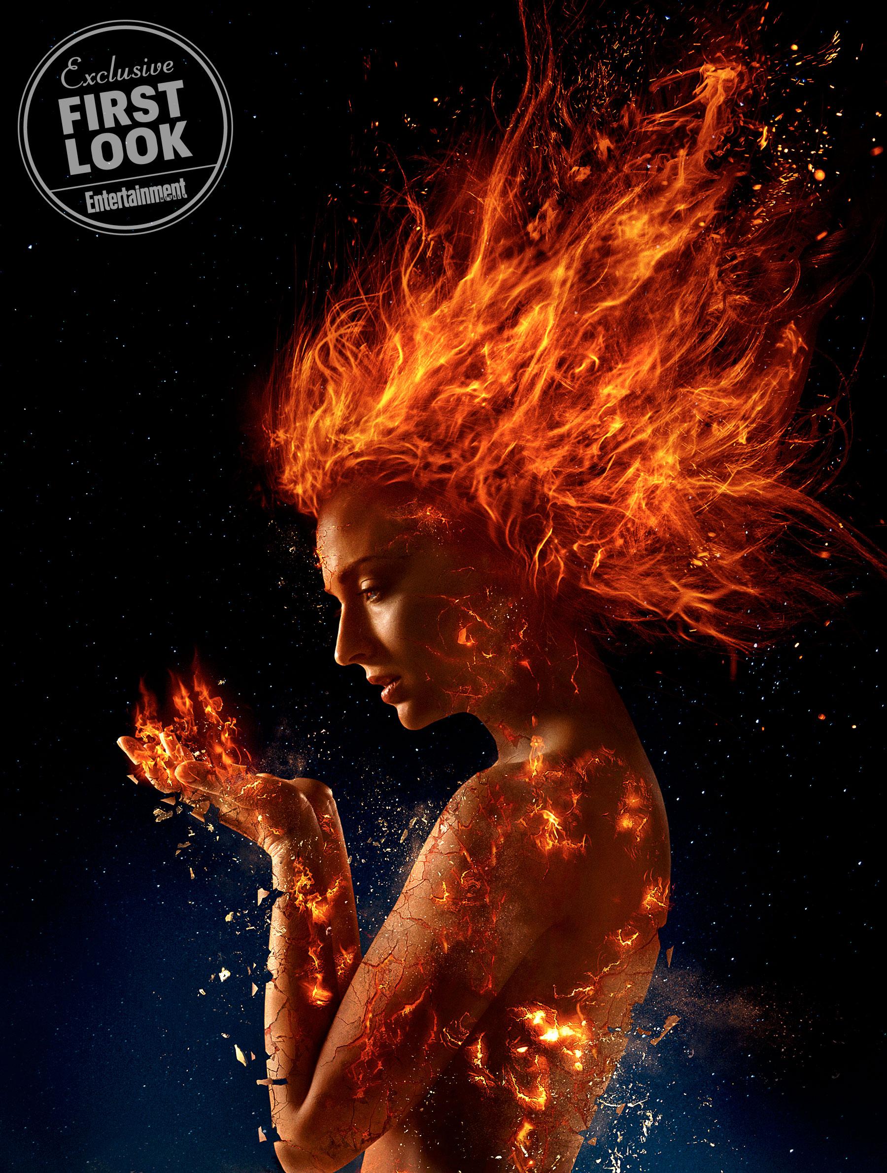 Sophie Turner as Jean Grey/Dark Phoenix
