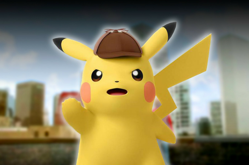A Live-Action Detective Pikachu Movie Is In The Works And Our Hearts Are Bursting With Cuteness