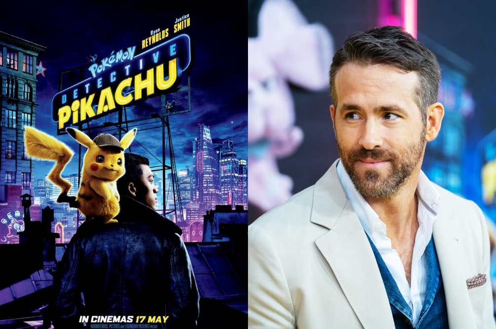 Ryan Reynolds Just Leaked The Entire 'Detective Pikachu' Movie Online