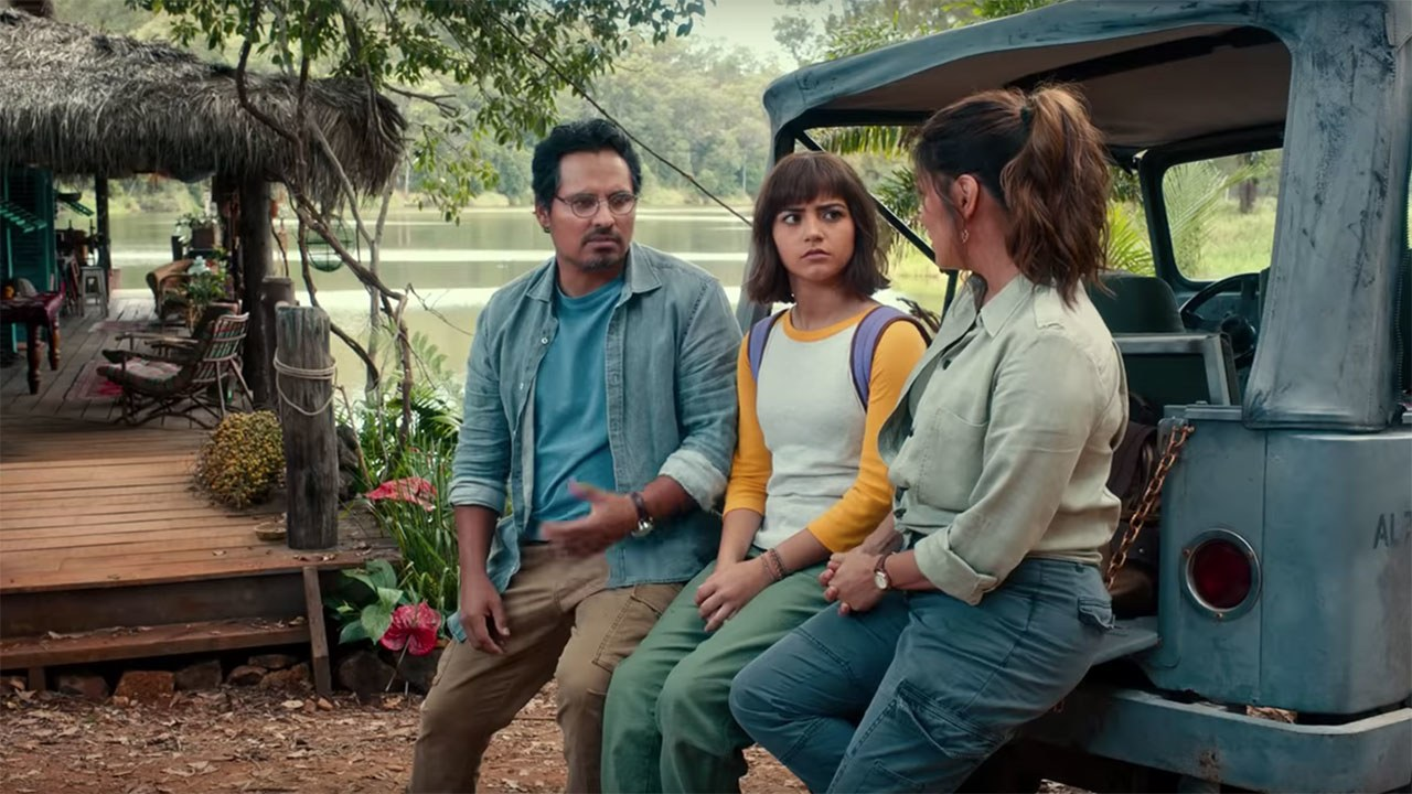 Meet Dora's parents played by Eva Longoria and Michael Pena.