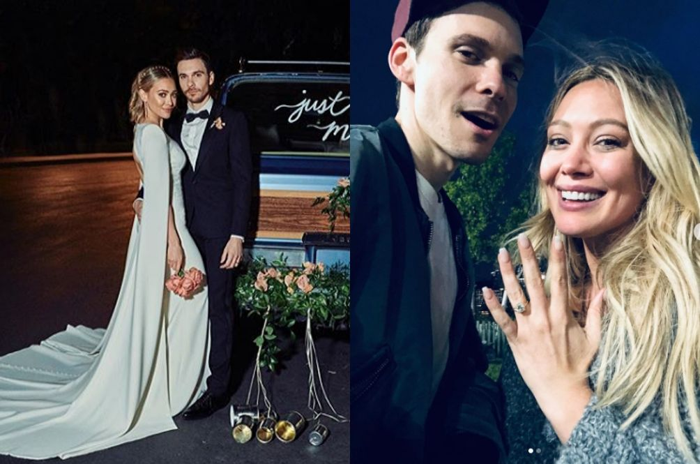 Sorry Boys, Your Childhood Crush Hilary Duff A.K.A Lizzie McGuire Has Tied The Knot