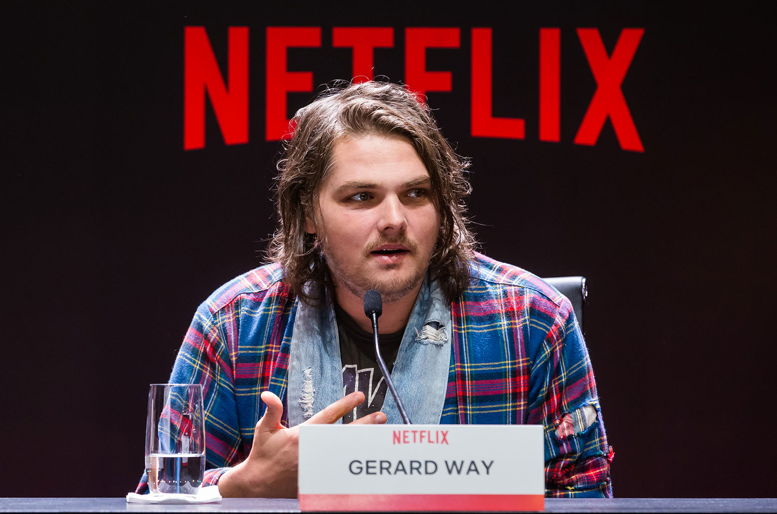 The Gerard Way you once knew may look... a little different now.