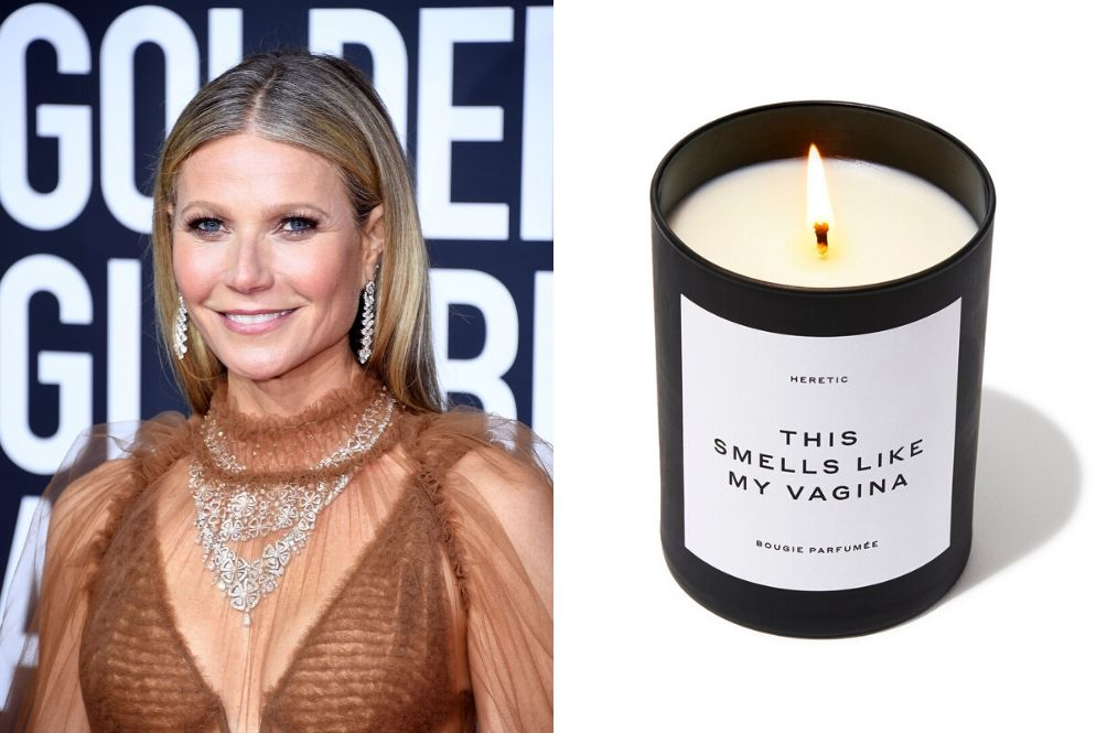 Mind Blowing: Gwyneth Paltrow Is Selling Vagina-Scented Candles That Costs Over RM300