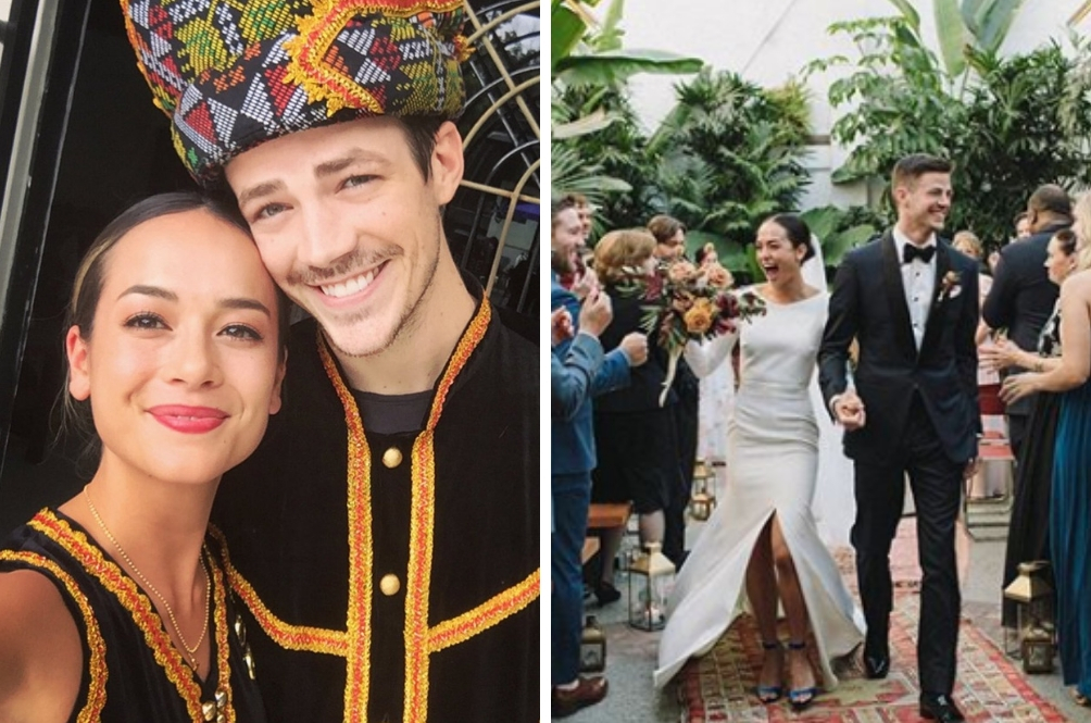 [PHOTOS] Grant 'The Flash' Gustin Officially Ties The Knot With Malaysian Andrea Thoma