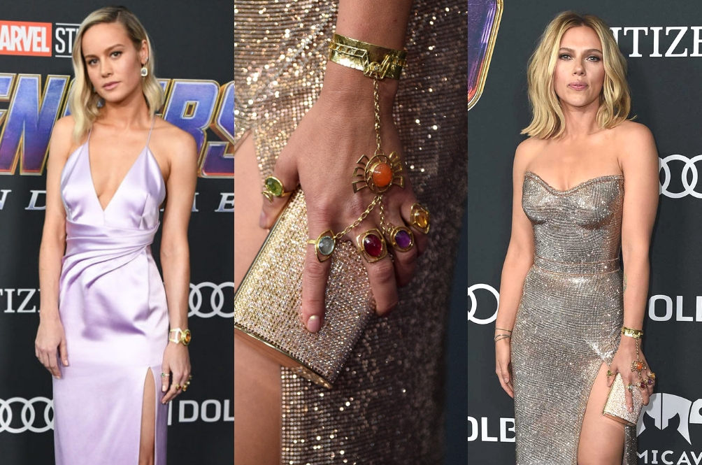 Black Widow, Captain Marvel Wore The Infinity Stones To The 'Avengers' Premiere – Is This A Hint?