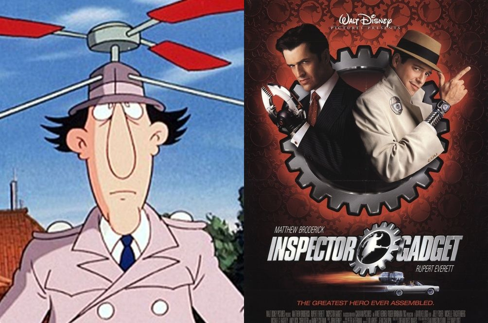 Wowsers, Disney Is Working On A Live-Action Remake Of 'Inspector Gadget'