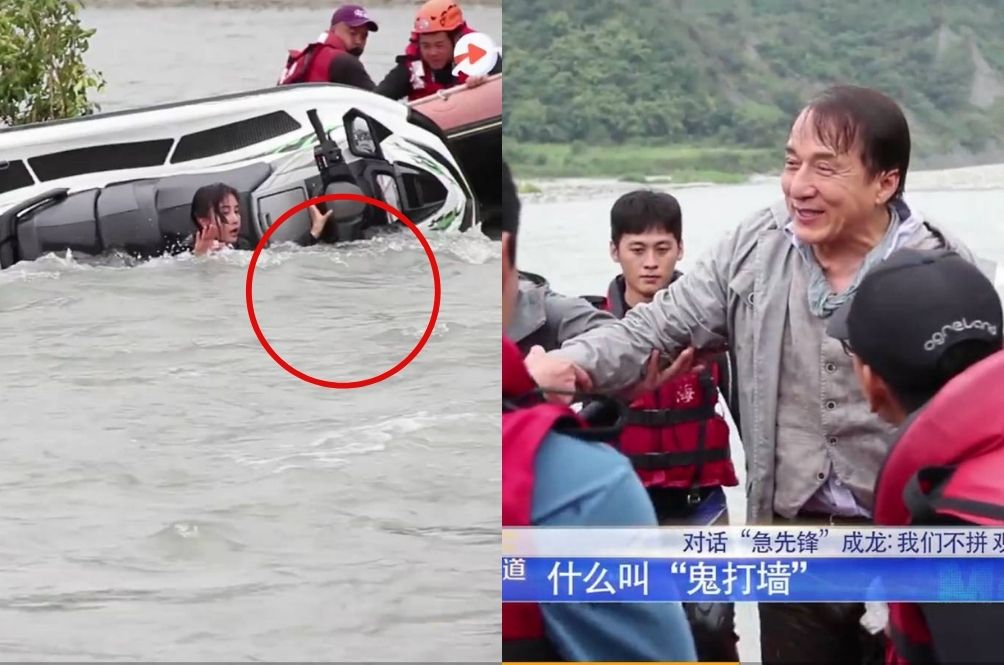[VIDEO] Jackie Chan Almost Drowned After He Went Missing Underwater While Filming A Movie