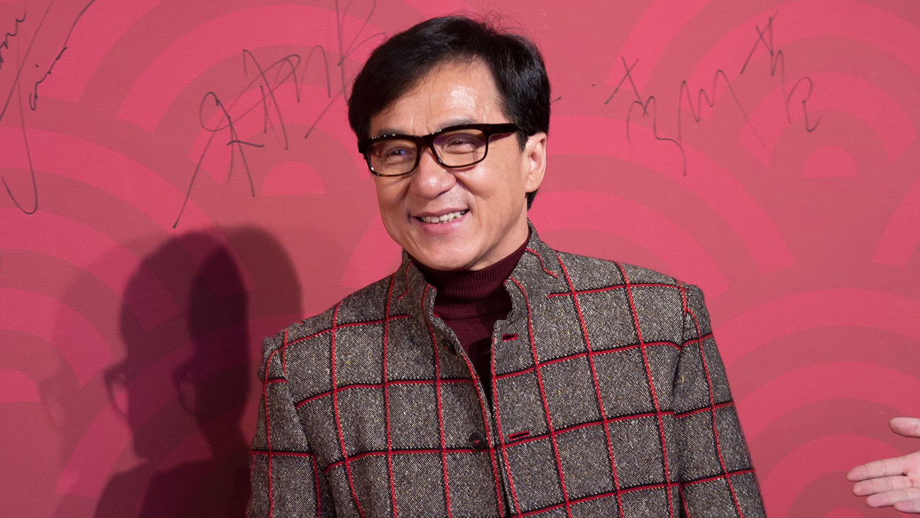Jackie Chan about to kick Coronovirus in the a** with some money.