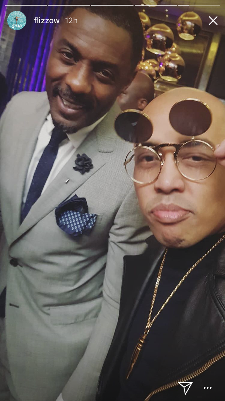Even rapper Joe Flizzow attended the event and got a selfie with Idris Elba.