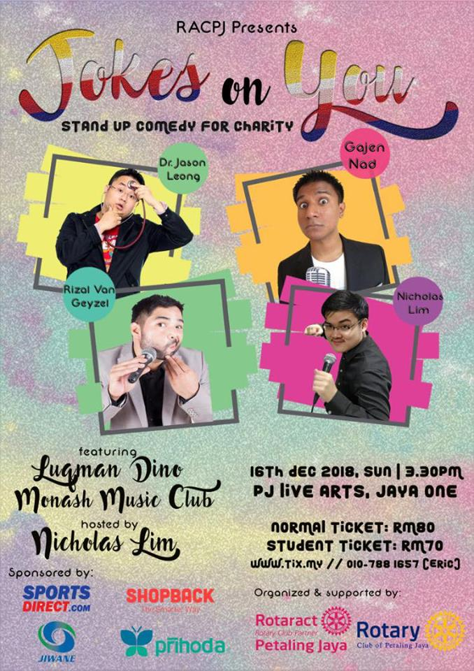 Come and have a good laugh, guys!