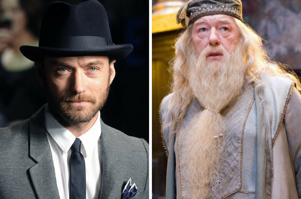 Jude Law Set To Play Dumbledore In The Next 'Fantastic Beasts And Where To Find Them'