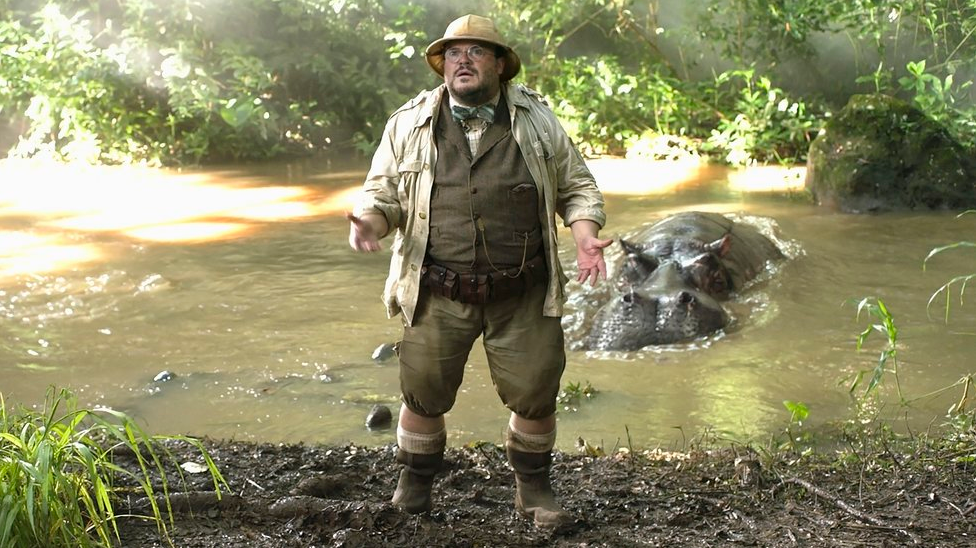 Jack Black is the best character ever in Jumanji 2017!