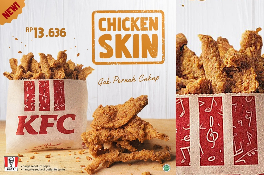 KFC Indonesia Just Launched 'KFC Chicken Skin' And Malaysians Want It To Be Sold Here Too