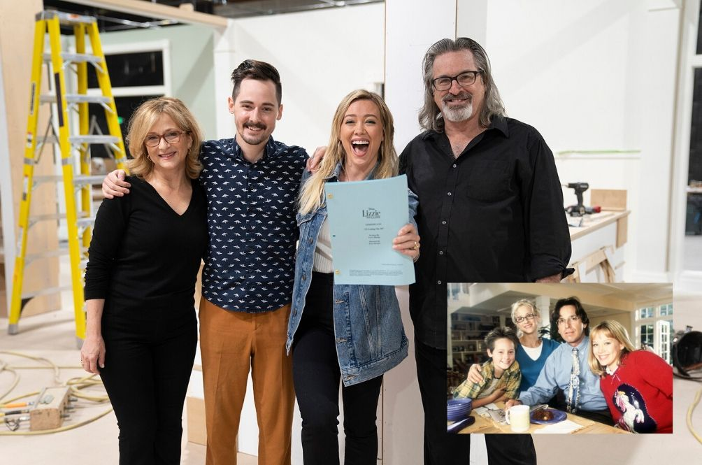 OMG, The Original 'Lizzie McGuire' Cast Has Reunited To Start Filming For The Reboot