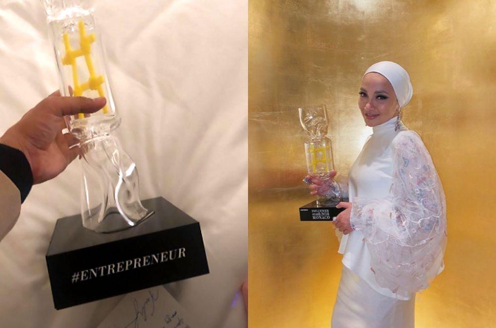Neelofa Becomes The First Malaysian To Win The Influencer Awards Monaco