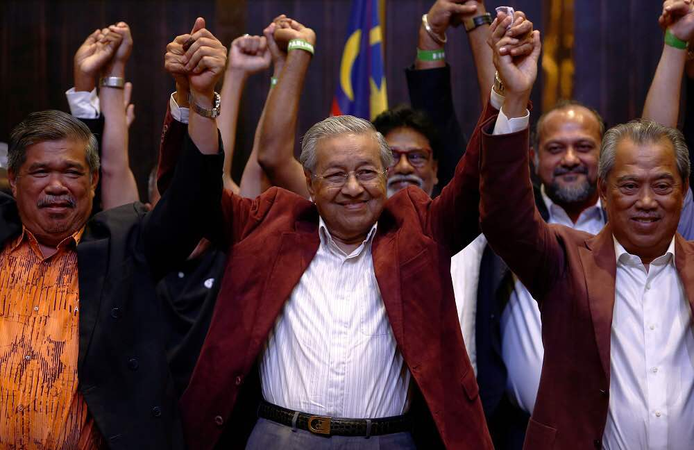 Who would've thought that Tun M will reprise his role as Prime Minister?