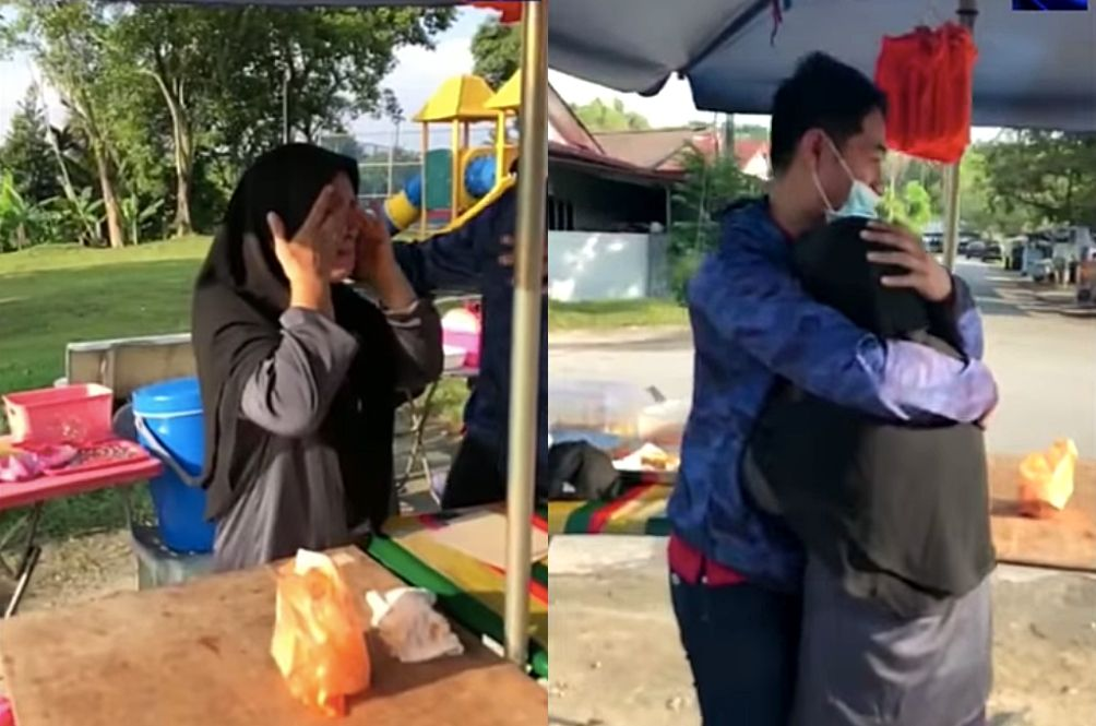 [VIDEO] Netizens Moved To Tears Watching Frontliner Reunite With His Mom After 9 Months