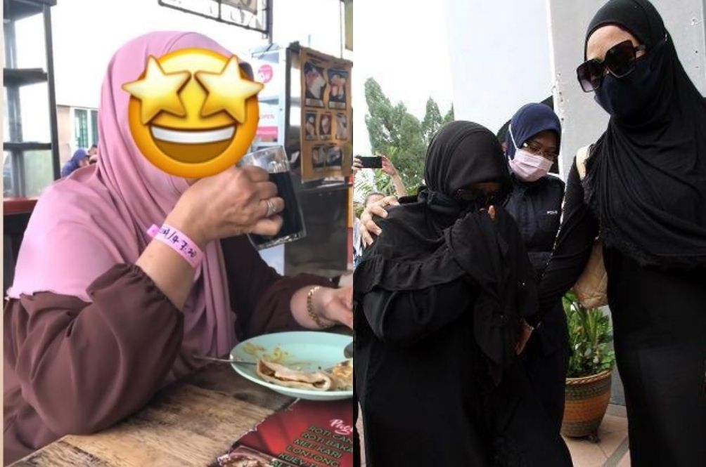Infamous 'Makcik Gelang Pink' Fined And Gets Jail Time For Flouting Home Quarantine