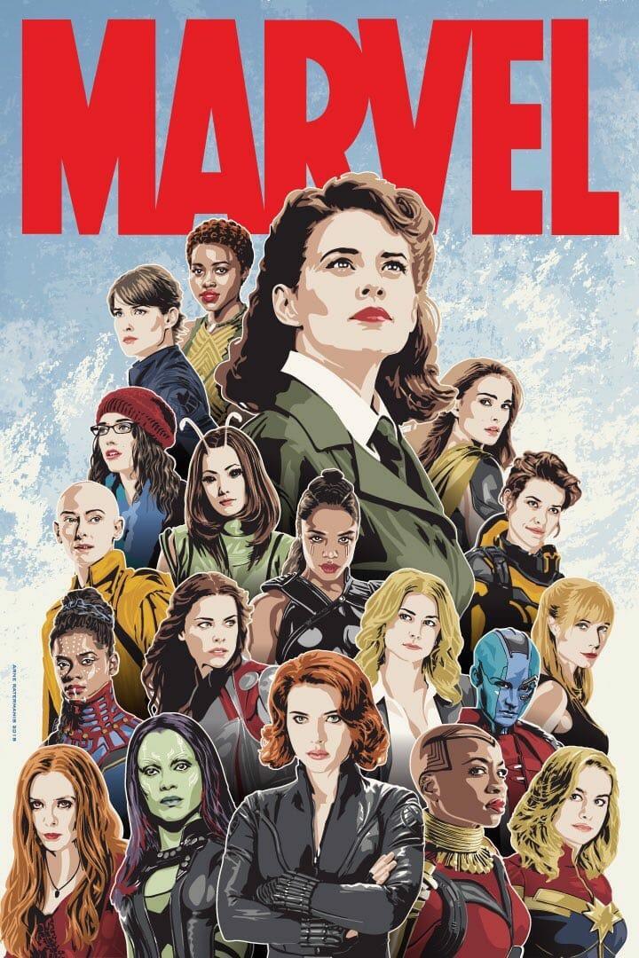 Girl power in the MCU.