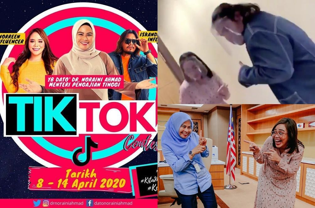 Higher Education Minister Slammed For Running TikTok Contest During Pandemic
