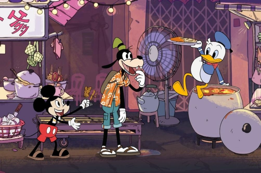 New Disney Show Features Mickey Mouse Selling Satay And Donald Duck Making Roti Canai