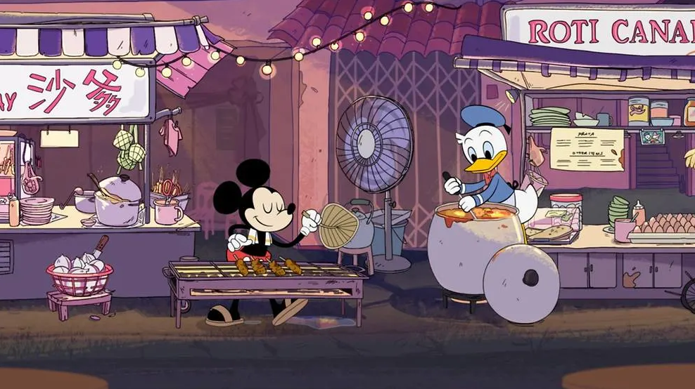 So proud to see our food in a Disney series!