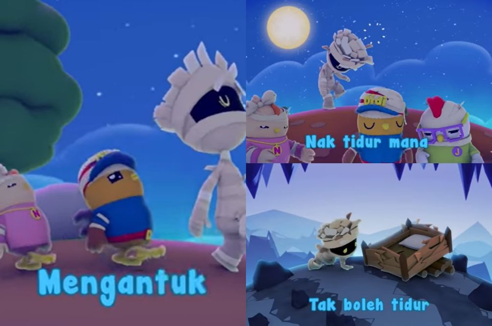 M'sians Are Digging This Song About Sleep From 'Didi & Friends' Because It's So Relatable
